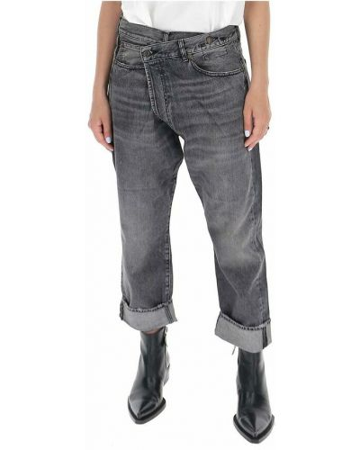 Szare mom jeans R13