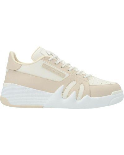 Sneakersy - beżowe Giuseppe Zanotti