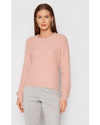 Sweter - różowy Vero Moda
