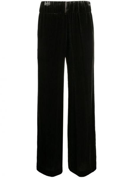 Велюровые брюки - серые Aspesi