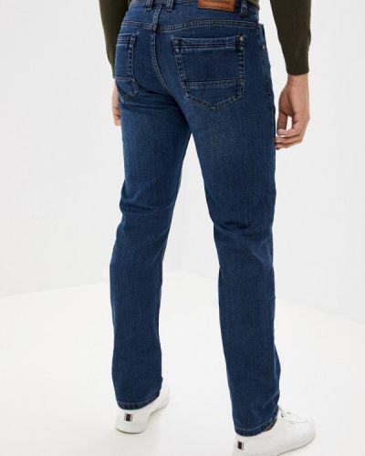 Синие прямые джинсы Mossmore