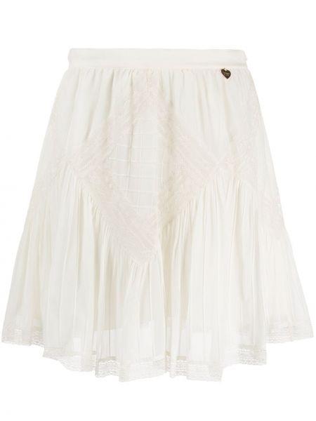 Расклешенная юбка мини в рубчик Twin-set