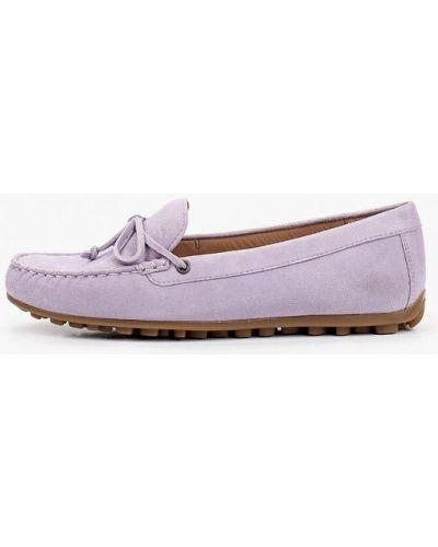 Фиолетовые мокасины Ecco