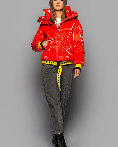 Куртка оверсайз - красная Kattaleya