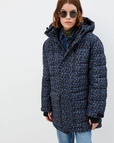 Синяя демисезонная куртка Zadig & Voltaire