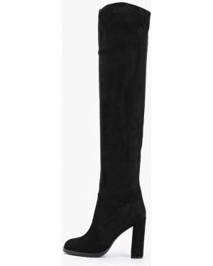 Ботинки на каблуке черные осенние Mallanee