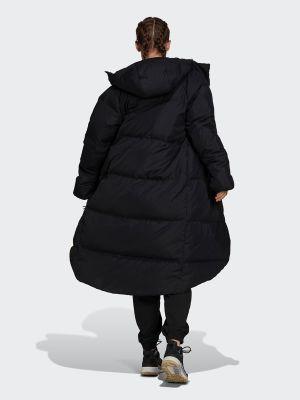 Пуховик - черный Adidas