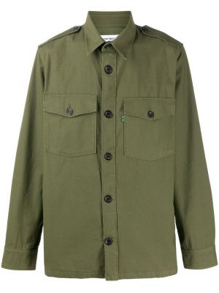 Koszula z długim rękawem klasyczna wojskowy Department 5