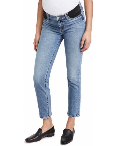 Синие джинсы с карманами для беременных Joe's Jeans