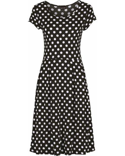 Расклешенное платье мини Bonprix