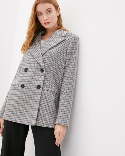 Серое пальто Mbym