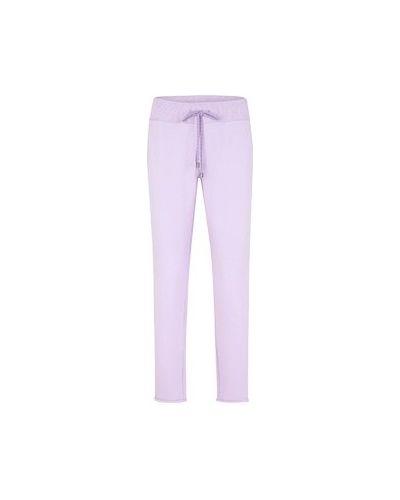 Спортивные брюки из полиэстера - фиолетовые Juvia