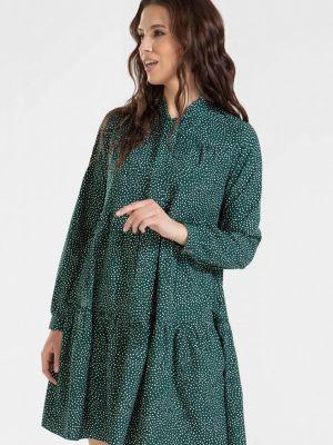 Повседневное зеленое платье Prima Linea