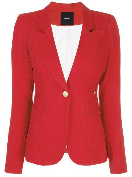 Красная куртка с манжетами на пуговицах с карманами Smythe
