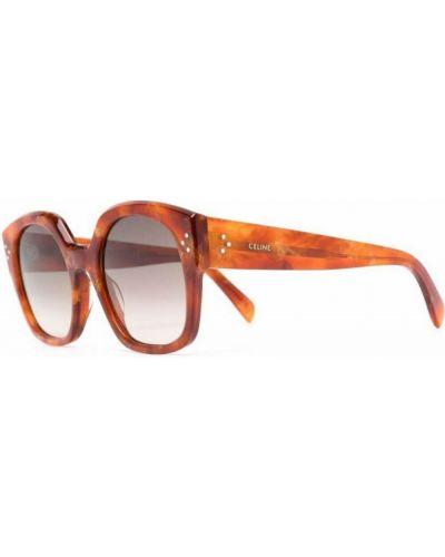 Pomarańczowe okulary Céline
