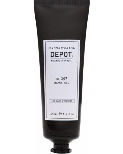 Skórzany miękki szary żel do mycia twarzy czyszczenie Depot