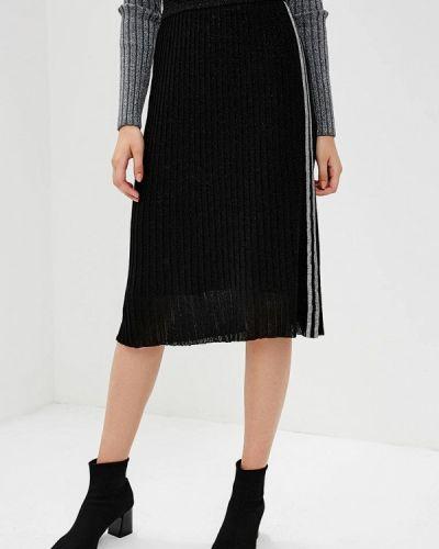 Черная юбка миди Rinascimento