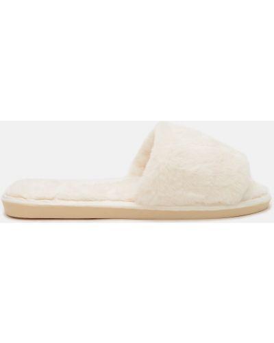 Домашние тапочки - бежевые Slippers