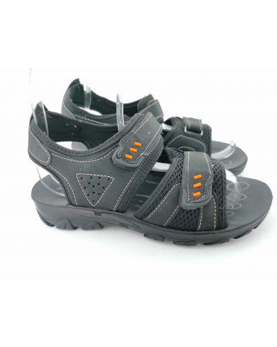 Черные сандалии Atlas