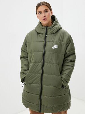 Демисезонная куртка хаки Nike