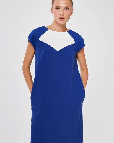 Повседневное синее платье Yulia'sway