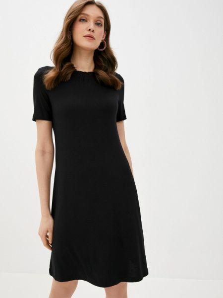Черное повседневное платье Marks & Spencer