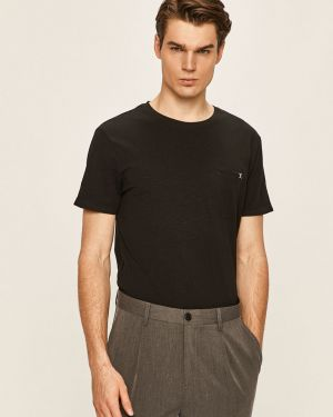 Czarny t-shirt bawełniany Clean Cut Copenhagen