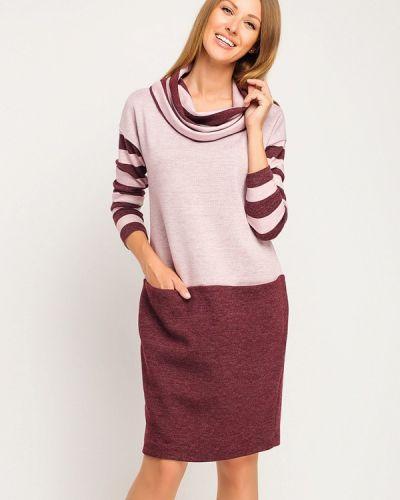 Платье розовое вязаное Giulia Rossi