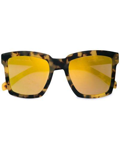 Солнцезащитные очки коричневый каркасный Westward Leaning