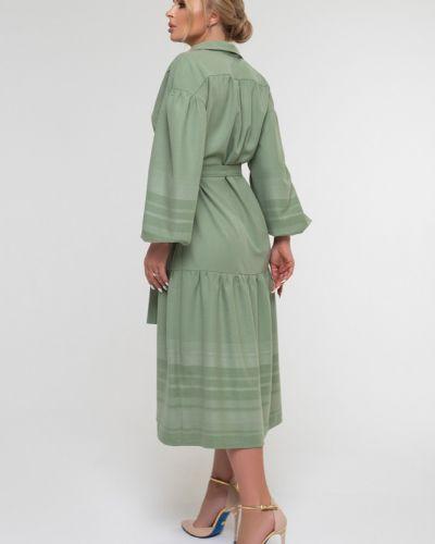 Свободное с рукавами платье свободного кроя Петербургский Швейный Дом