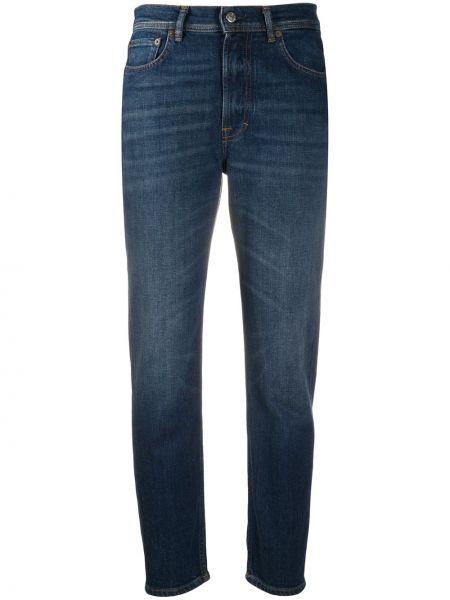 Bawełna bawełna niebieski jeansy z kieszeniami Acne Studios