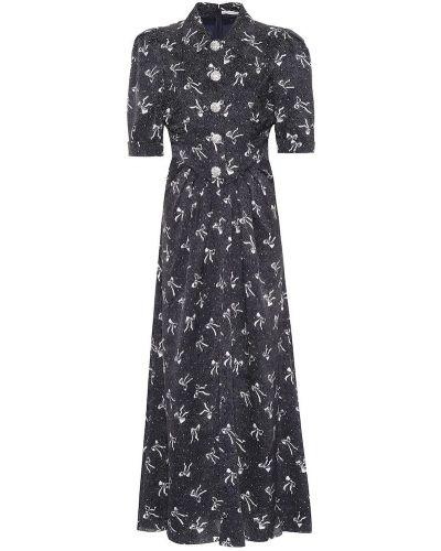 Платье мини шелковое винтажная Alessandra Rich