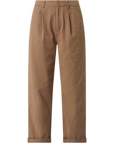 Beżowe spodnie bawełniane Brixton