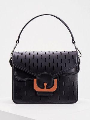 Кожаная сумка - черная Coccinelle