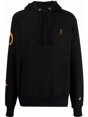 Czarny sweter bawełniany Carrots