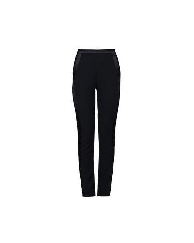 Шерстяные брюки - черные Roberto Cavalli