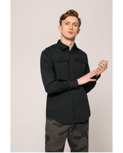Рубашка однотонная хлопковая G-star Raw