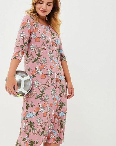 Платье розовое Griol