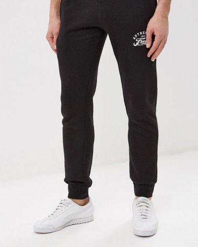 Спортивные брюки черные Fresh Brand