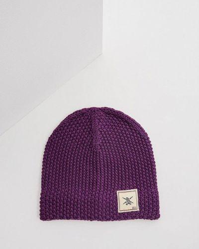 Фиолетовая шапка осенняя Gjo.e