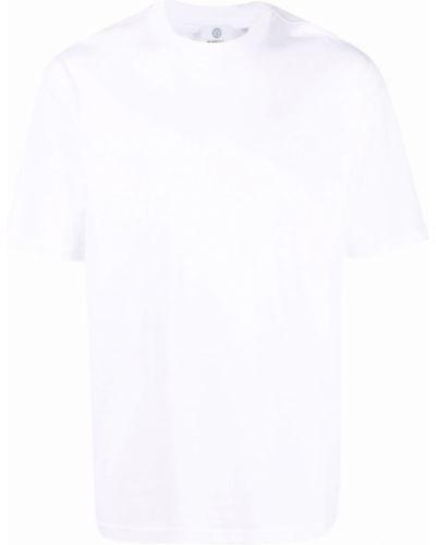 Biała t-shirt krótki rękaw Burberry