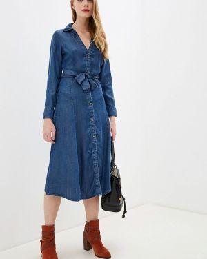 Джинсовое платье осеннее синее Ovs