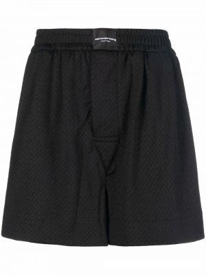 Трикотажные шорты - черные Alexander Wang