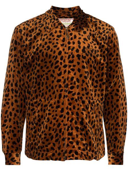 Куртка на пуговицах с манжетами с карманами с воротником Wacko Maria