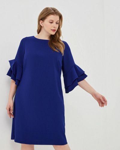 Повседневное платье синее Lauren Ralph Lauren Woman