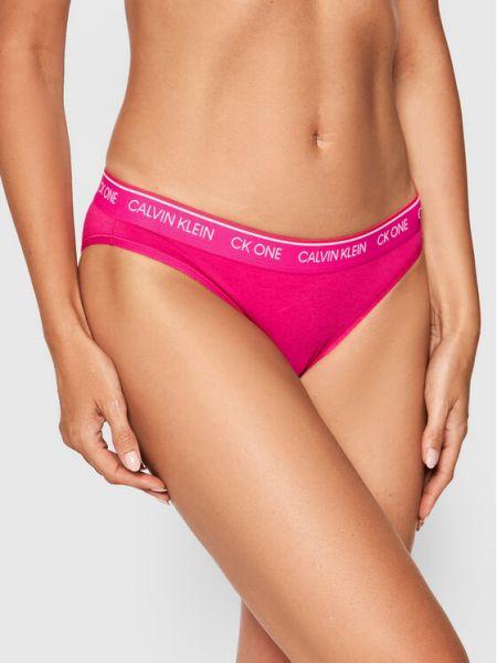 Figi - różowe Calvin Klein Underwear