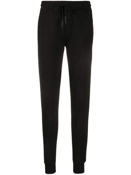 Черные брюки с карманами с манжетами Mcq Alexander Mcqueen