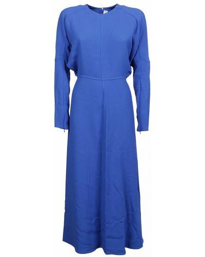 Sukienka - niebieska Victoria Beckham