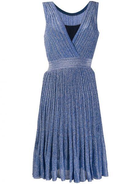 Sukienka dla wysokich kobiet o prostym kroju Missoni