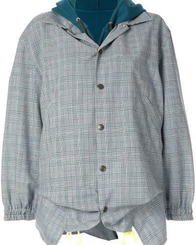 Куртка мятная с манжетами Facetasm